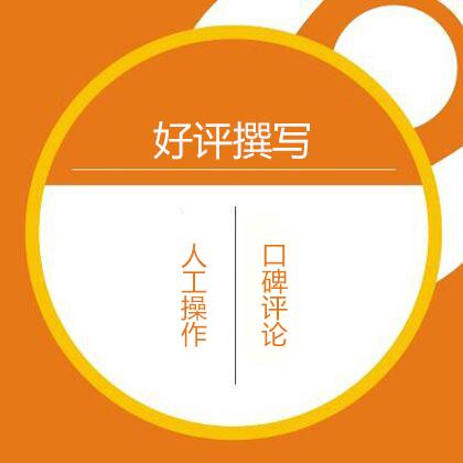 好评撰写/评论撰写/口碑撰写(15元/10条)