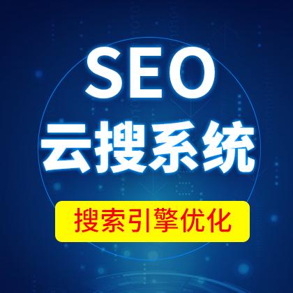 SEO云搜系统/SEO优化/网站排名优化/搜索引擎优化/模板/季度【精华版】